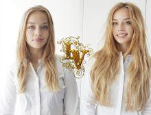 микрокапсульноенаращивание волос фото до и после