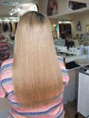 наращивание волос после