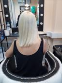 наращивание волос до